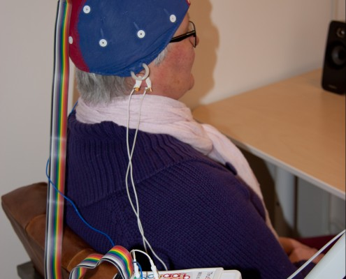 Neurofeedback training sensoren
